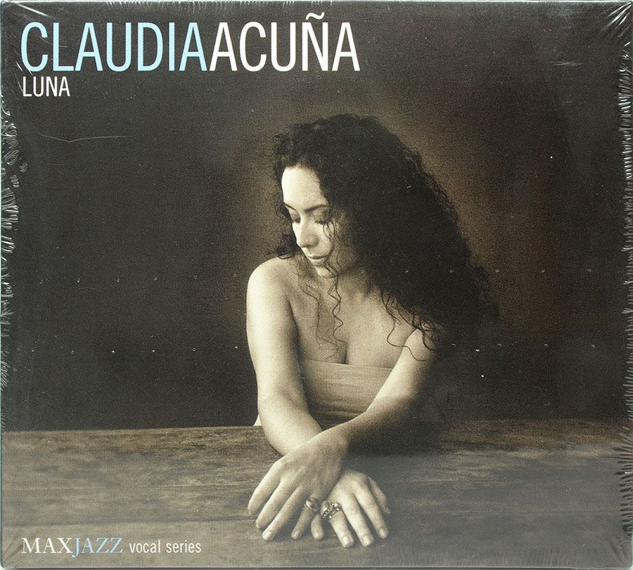 CD Claudia Acuña - Luna - Lacrado - Importado