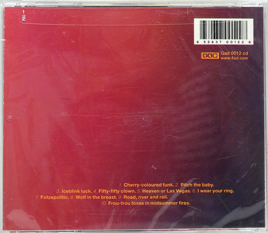 Cd Cocteau Twins - Heaven Or Las Vegas - Lacrado - Importado