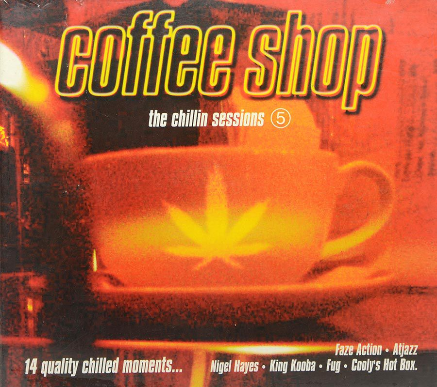 Cd Coffee Shop - The Chillin Sessions 5 - Lacrado - Importado