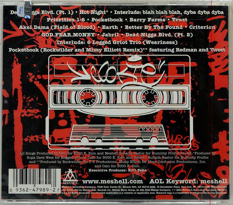 CD Cookie: The Anthropological Mixtape - Meshell Ndegeocello - Lacrado - Importado