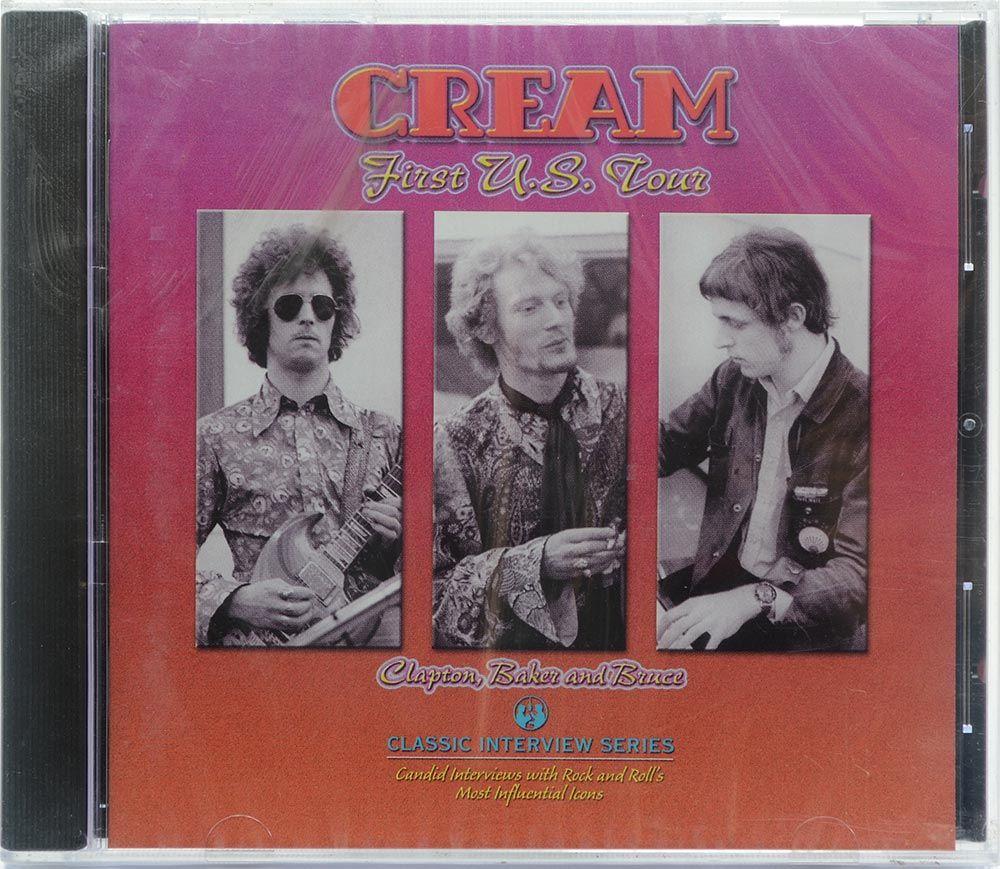 CD Cream - First U.S Tour - Importado - Lacrado