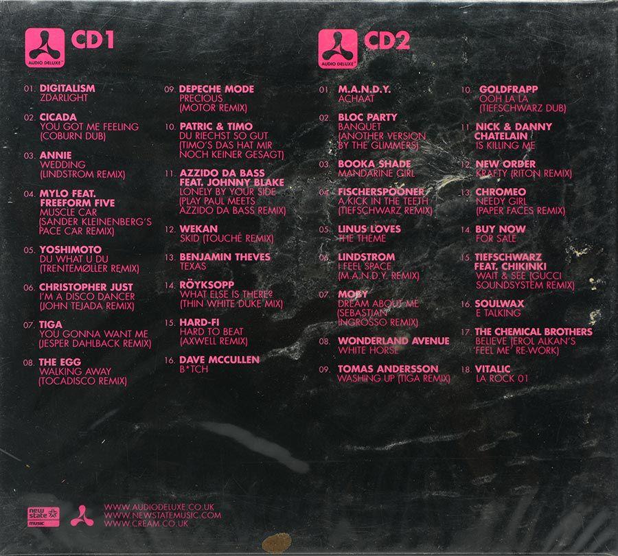 Cd Cream Rock The Discotheque - Lacrado - Importado