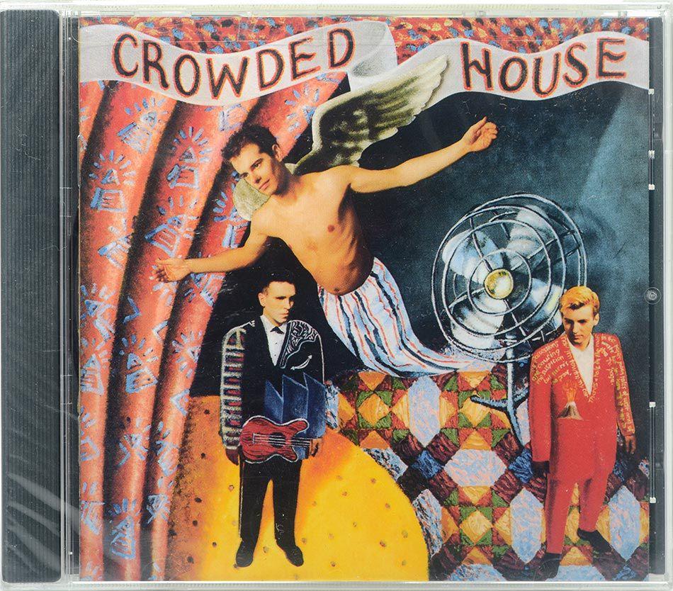 CD Crowded House - Crowded House - Lacrado - Importado