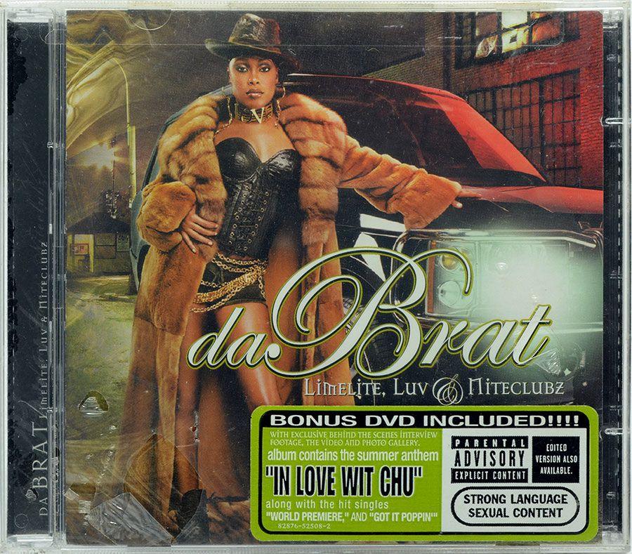 CD Da Brat - Limelite, Luv & Niteclubz - Bonus DVD - Lacrado - Importado