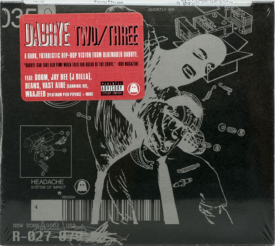 CD Dabrye - Two/Three - Lacrado - Importado