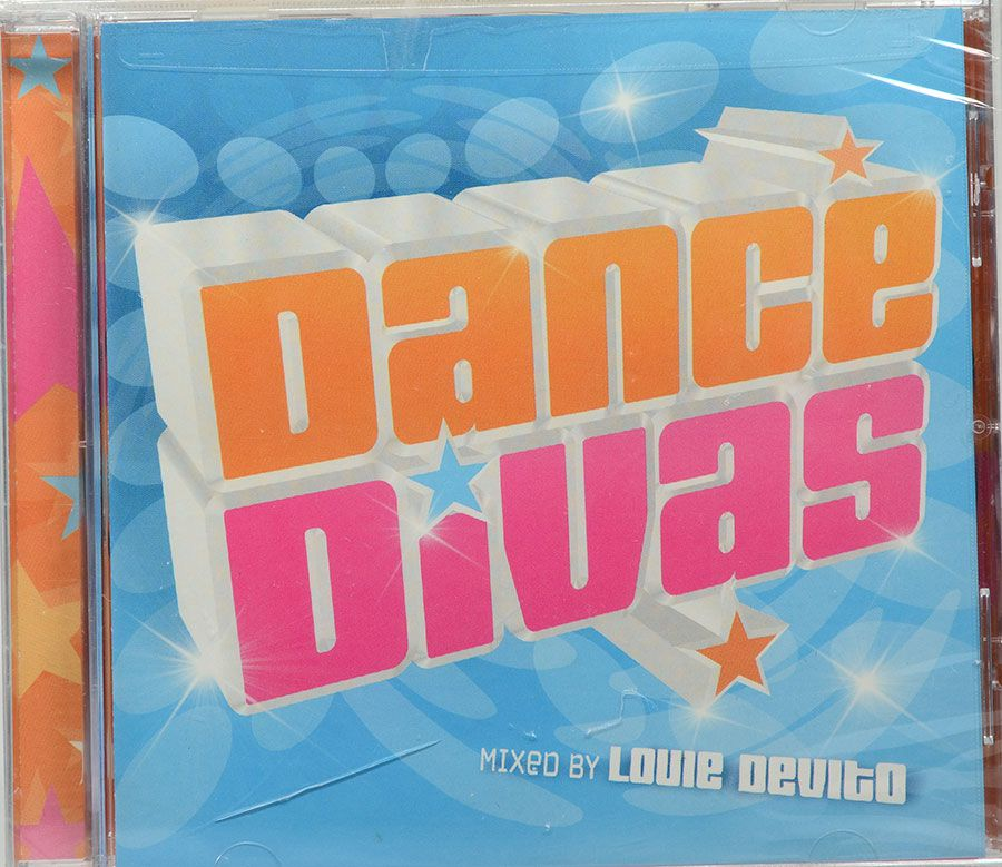 CD Dance Divas - Mixed By Louie Devito - Lacrado - Importado