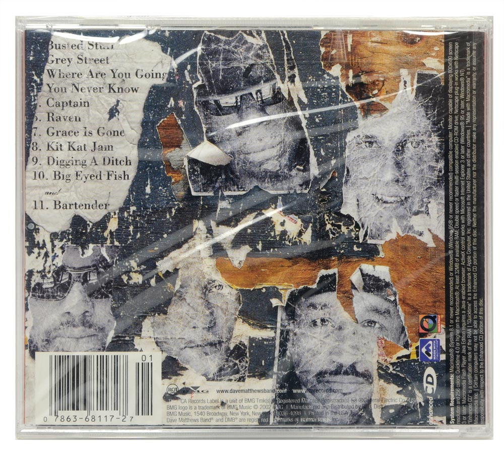 CD Dave Matthews Band - Busted Stuff - Importado - Lacrado