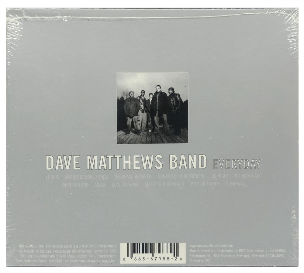 CD Dave Matthews Band - Everyday - Importado - Lacrado