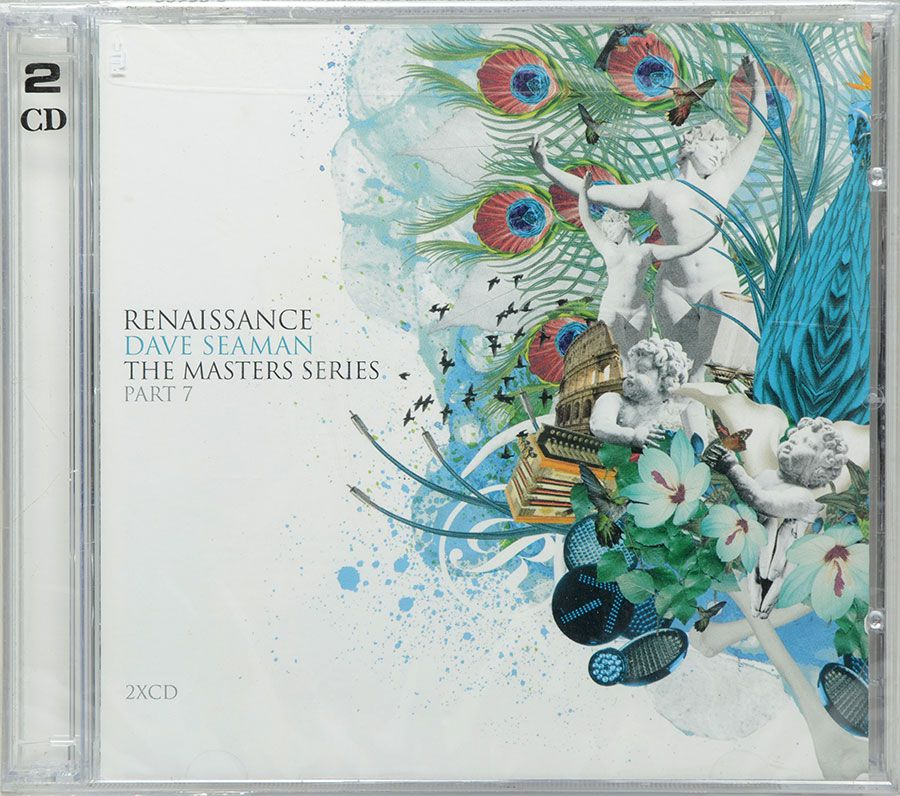 CD Dave Seaman - Renaissance the Masters Series 7 - Lacrado - Importado