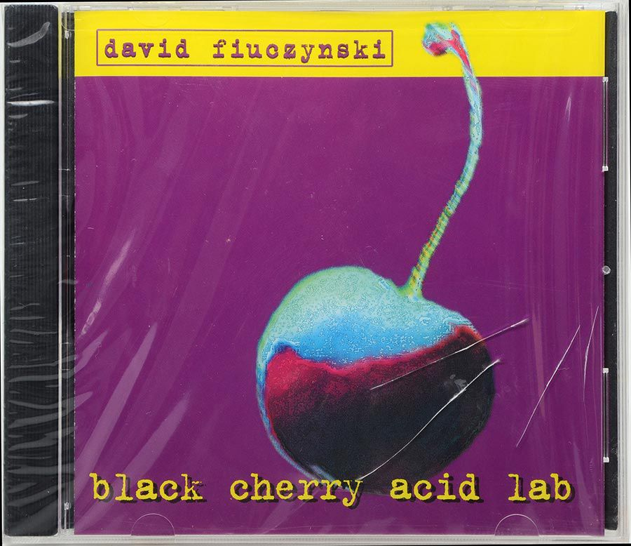 CD David Fiuczynski - Black Cherry Acid Lab - Lacrado - Importado