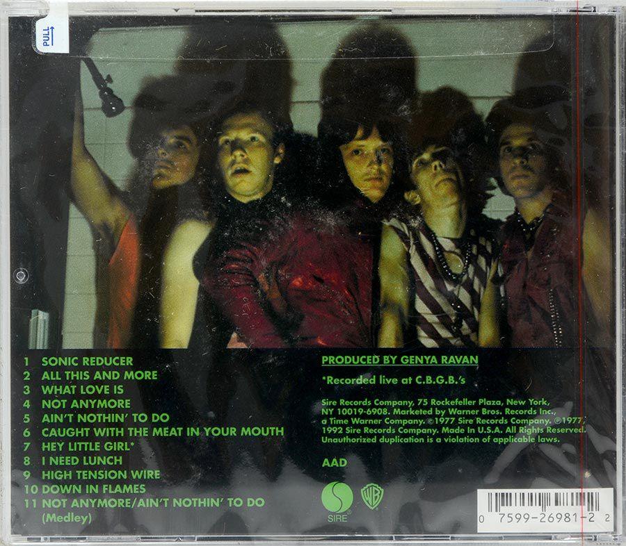 CD Dead Boys - Young Loud And Snotty - Lacrado - Importado