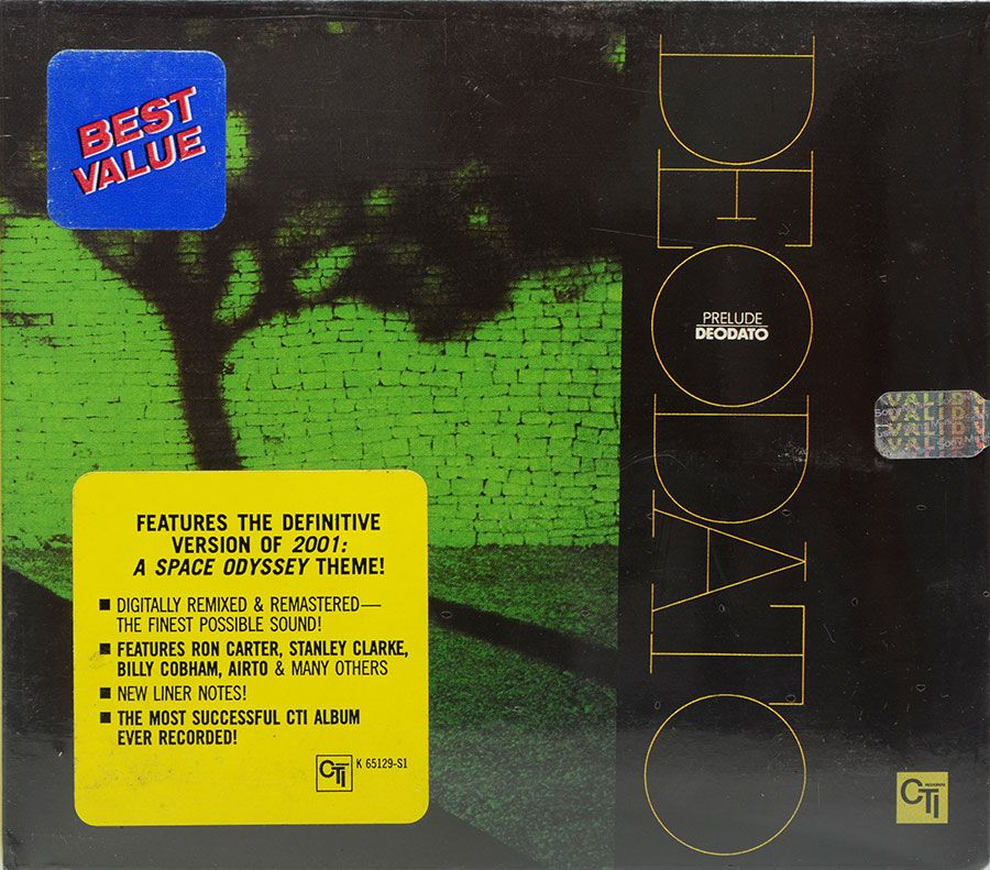 CD Deodato - Prelude - Lacrado - Importado - Digipack
