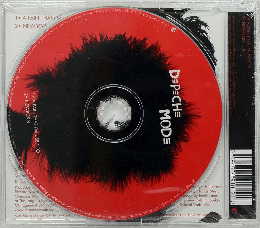 CD Depeche Mode - A Pain That I'm Used To - Parte 1 - Lacrado - Importado