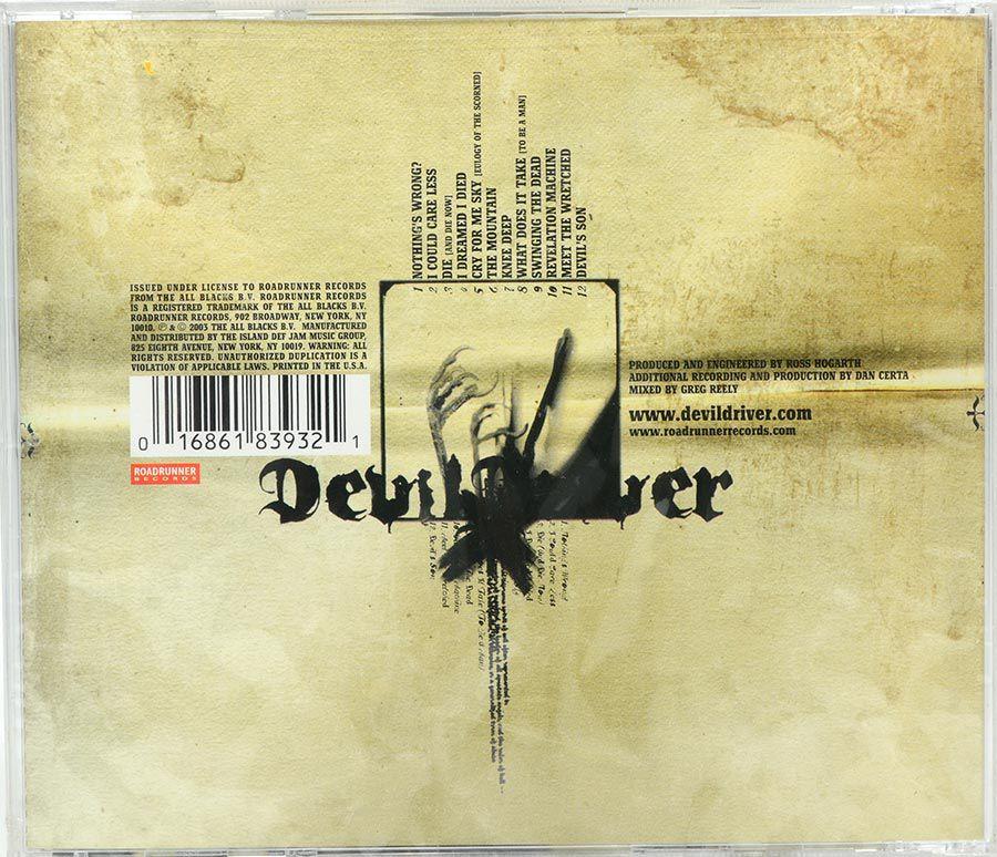Cd Devildriver - Devildriver - Lacrado - Importado