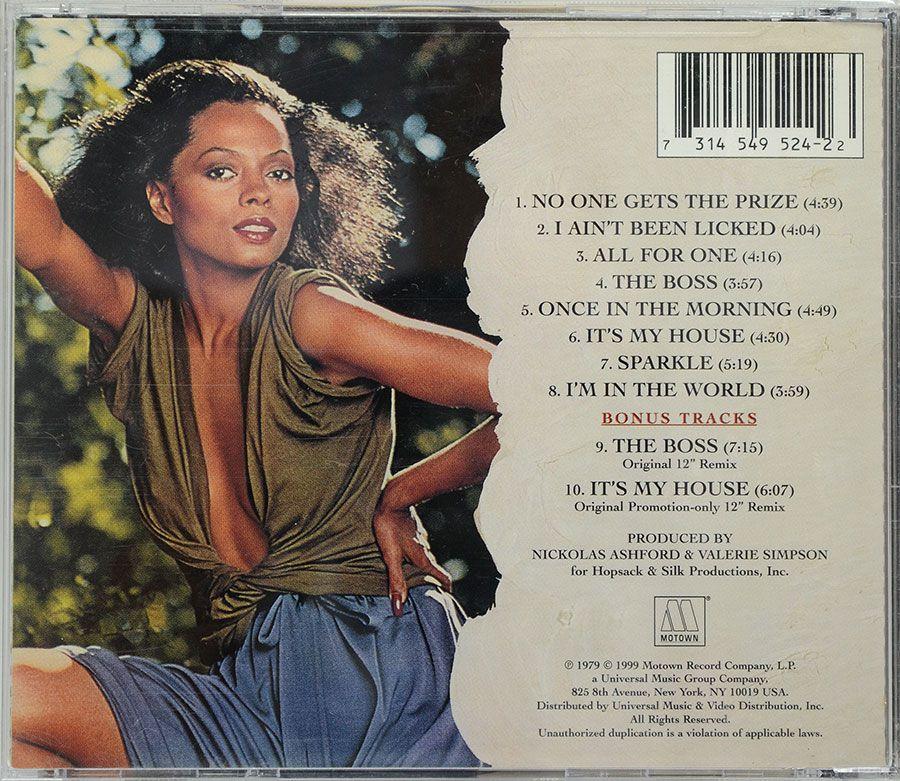 CD Diana Ross - The Boss - Lacrado - Importado