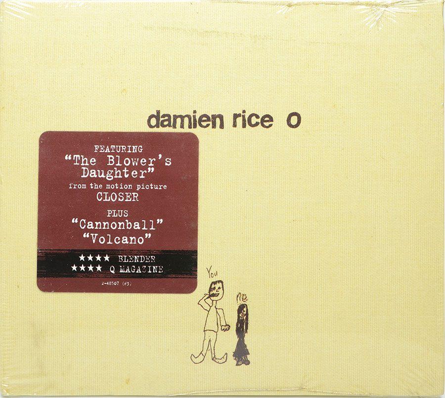 CD Digipack - Damien Rice O - Lacrado - Importado