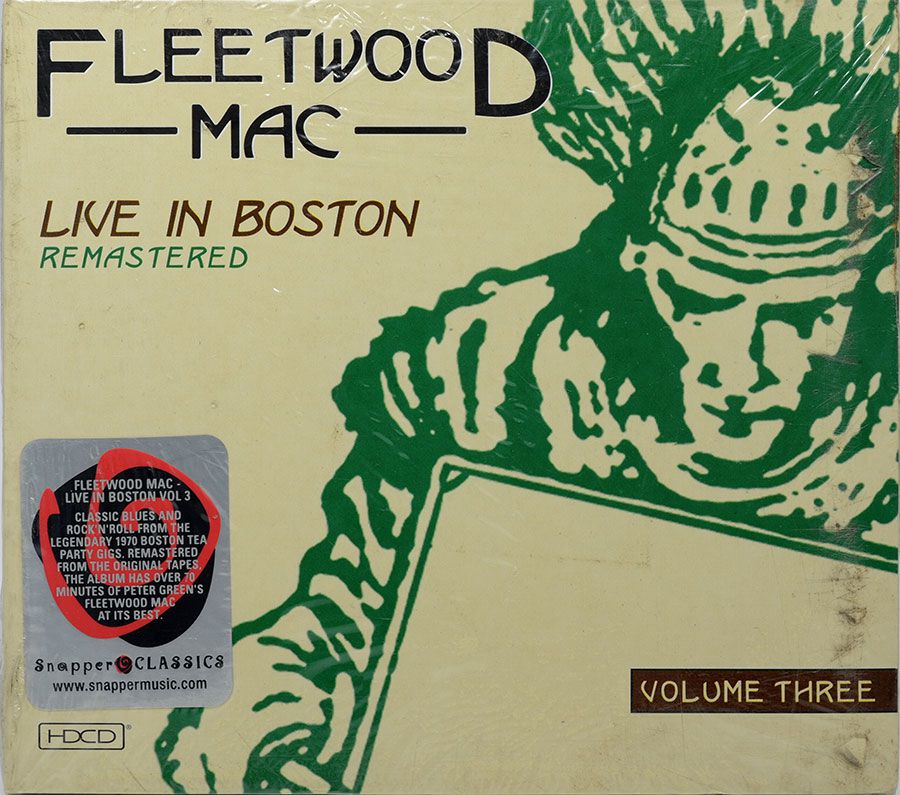 CD Digipack Fleetwood Mac - Live In Boston Vol.3 - Lacrado - Importado
