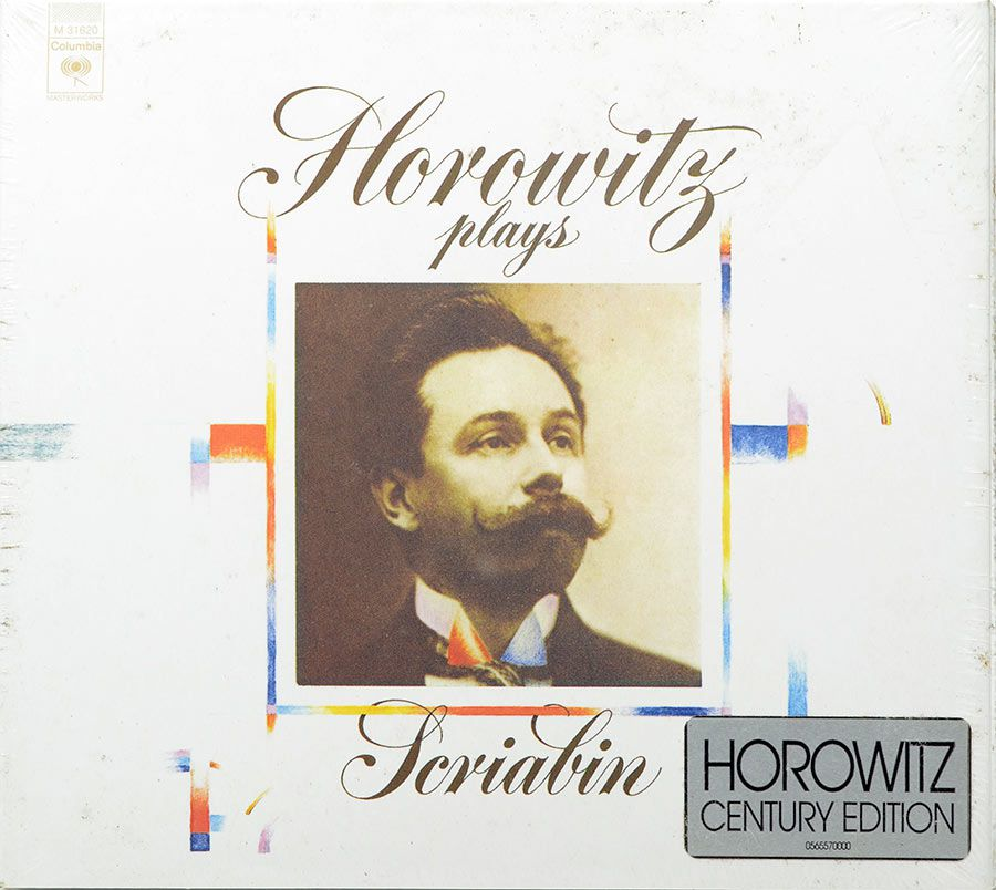 CD Digipack Horowitz Plays Scriabin - Lacrado - Importado