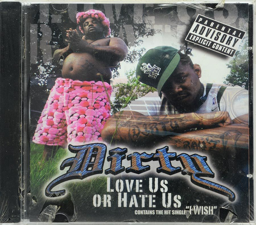 CD Dirty - Love Us Or Hate Us - Lacrado - Importado