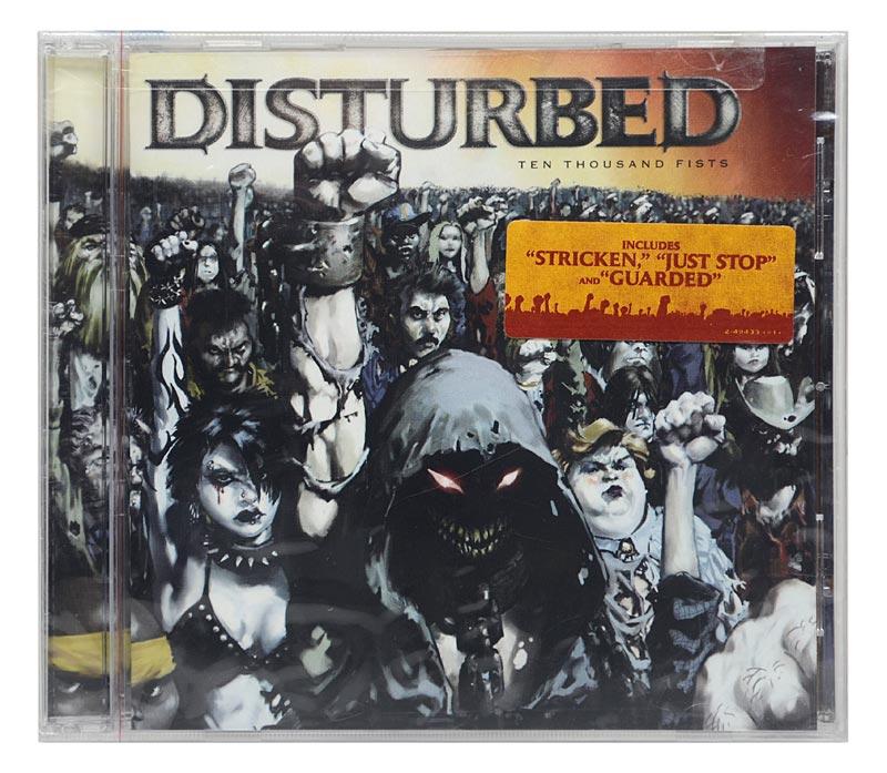 CD Disturbed - Ten Thousand Fists - Importado USA - Lacrado