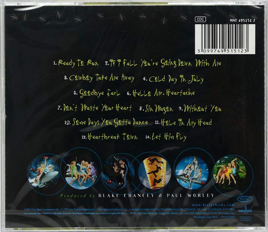 Cd Dixie Chicks - Fly - Lacrado - Importado