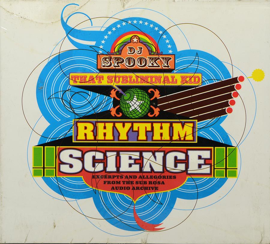 Cd Dj Spooky That Subliminal Kid - Rhythm Science - Lacrado - Importado