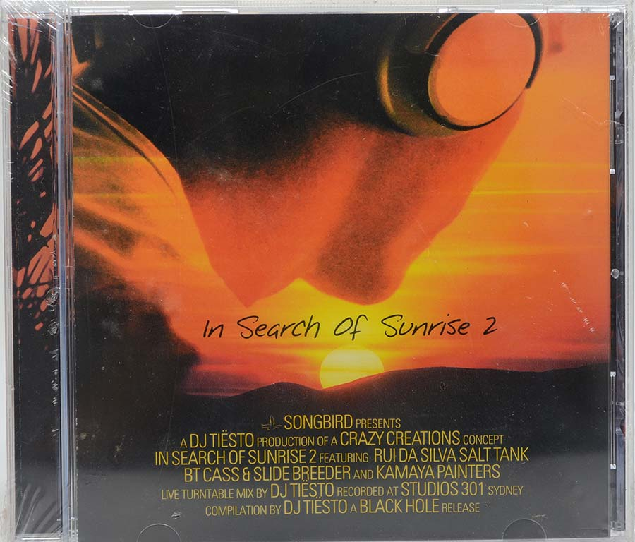 Cd Dj Tiesto - In Search Of Sunrise 2 - Lacrado - Importado