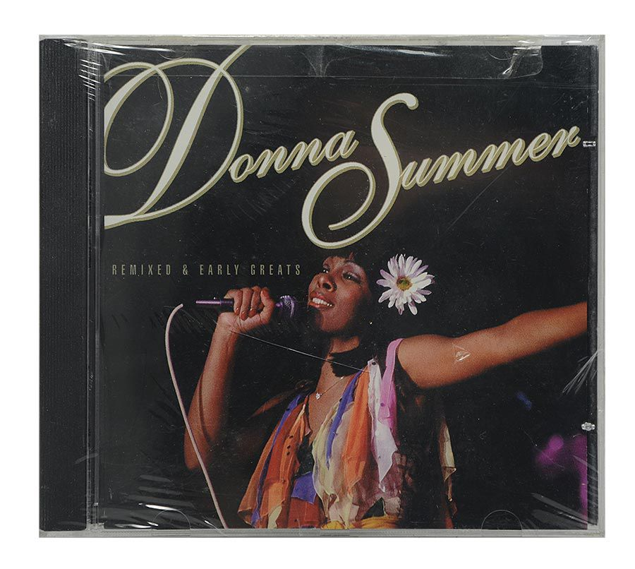 Cd Donna Summer - Remixed & Early Greats - Importado - Lacrado