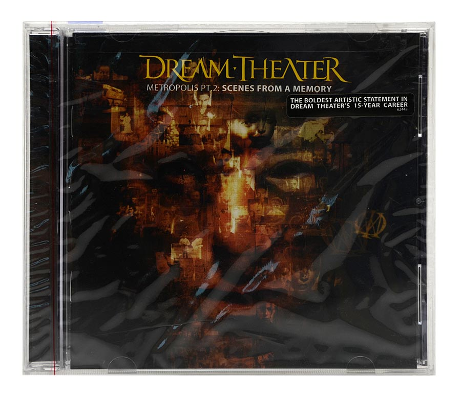 CD Dream Theater - Metropolis PT 2: Scenes From A Memory - Importado - Lacrado