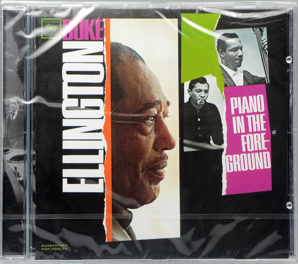 CD Duke Ellington - Piano In The Foreground - Lacrado - Importado