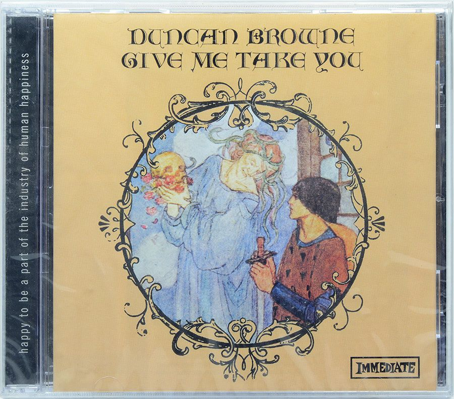 CD Duncan Browne - Give Me Take You - Lacrado - Importado