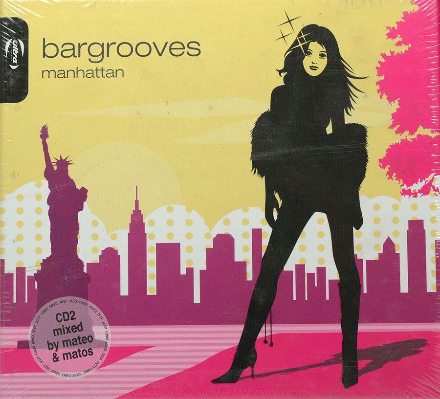 Cd Duplo Bargrooves Manhattan - Lacrado - Importado