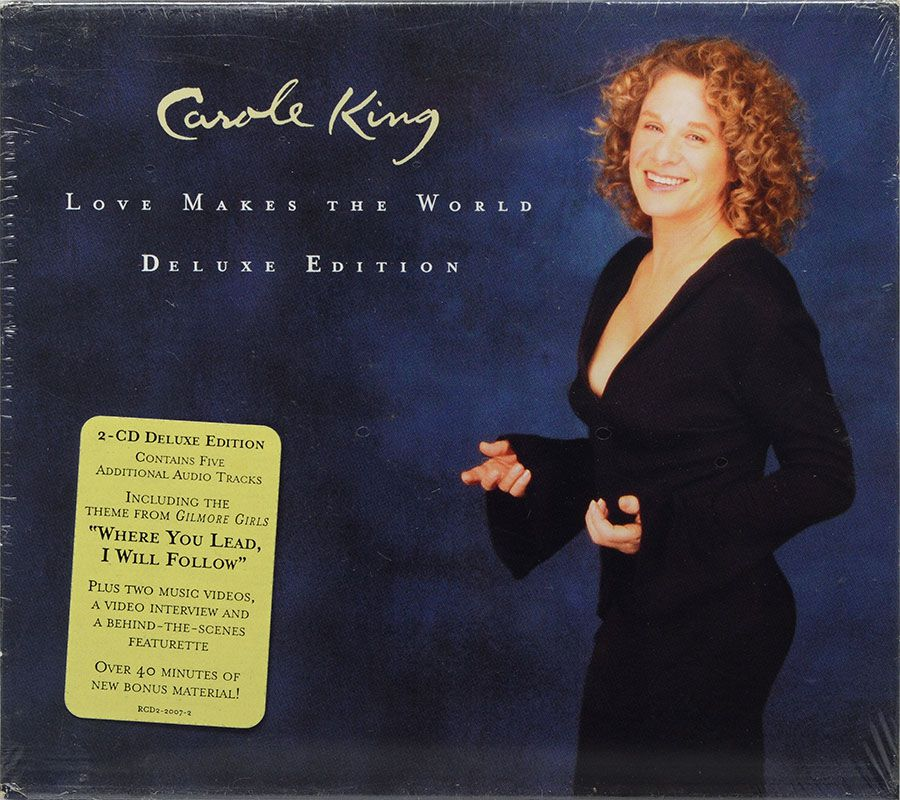 CD Duplo Carole King - Love Makes The World Deluxe Edition - Lacrado - Importado