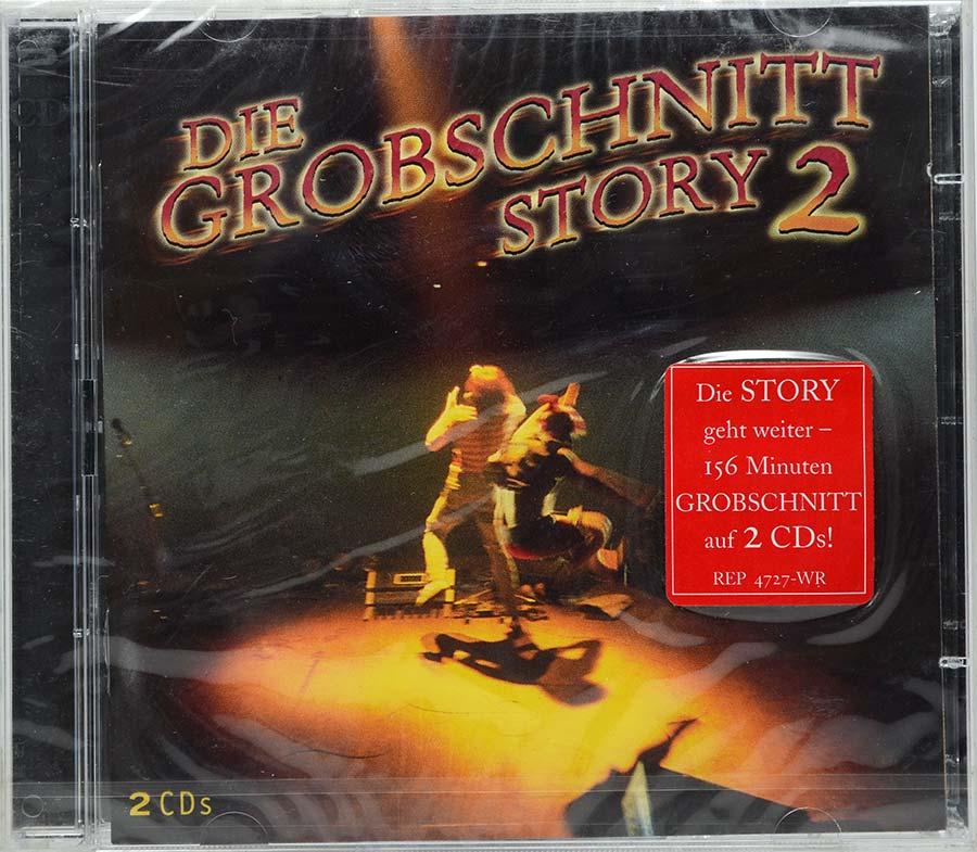 Cd Duplo Die Grobschnitt - Story 2 - Lacrado - Importado