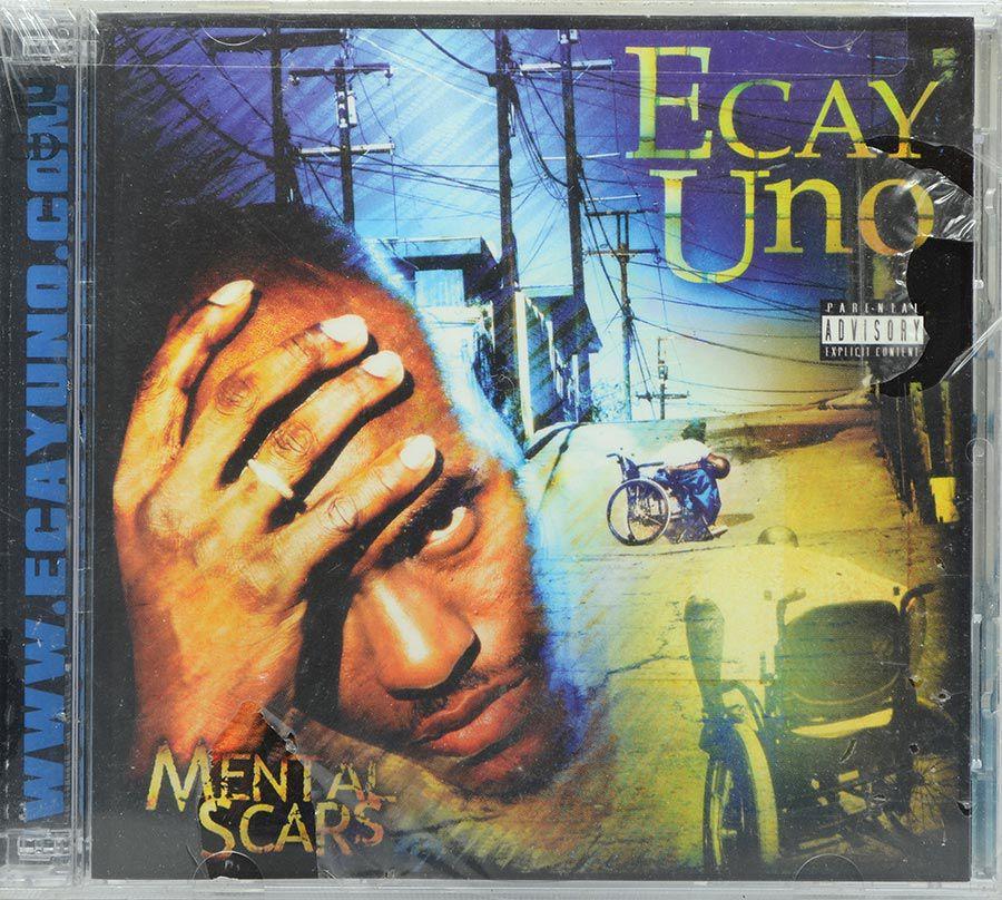 CD Duplo Ecay Uno - Mental Scars - Lacrado - Importado