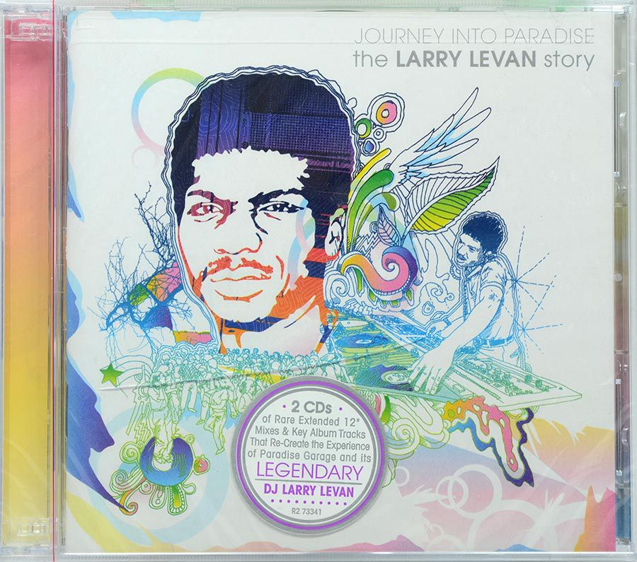 Cd Duplo Journey Into Paradise The Larry Levan Story - Lacrado - Importado