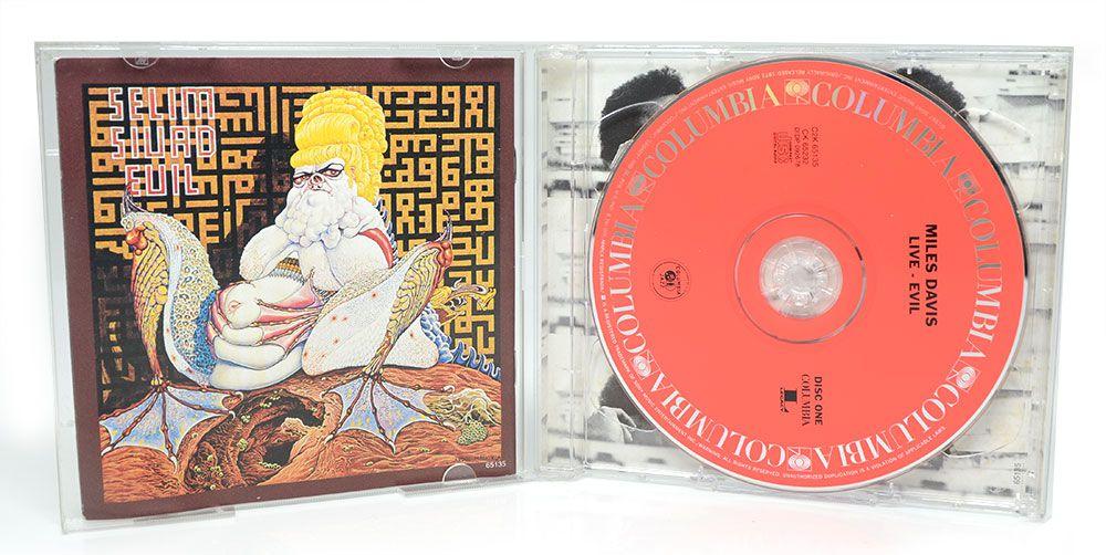 CD Duplo Miles Davis - Live-Evil - Importado
