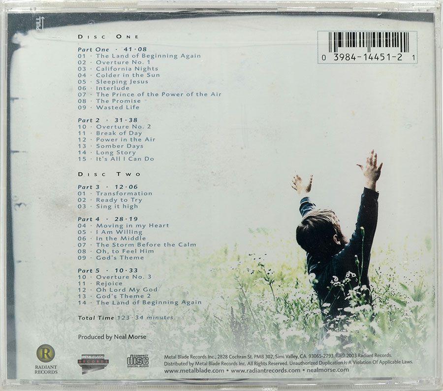 CD Duplo Neal Morse - Testimony - Lacrado - Importado
