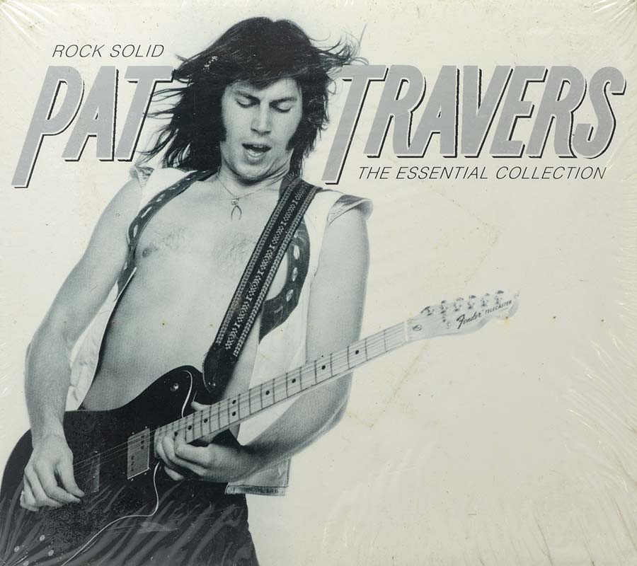 Cd Duplo Pat Travers - Rock Solid Essential Collection - Lacrado - Importado
