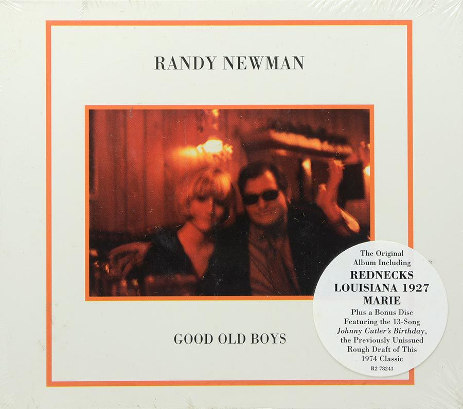 CD Duplo Randy Newman - Good Old Boys - Lacrado - Importado
