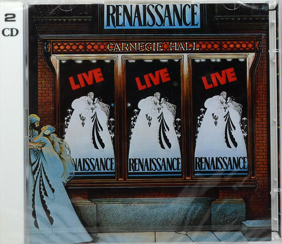 CD Duplo Renaissance - Live At Carnegie Hall - Lacrado - Importado