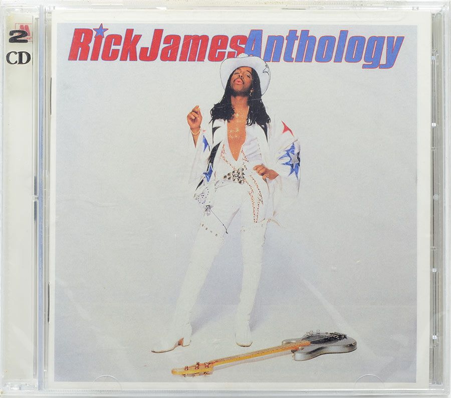CD Duplo Rick James Anthology - Lacrado - Importado