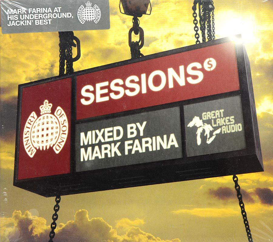 CD Duplo Sessions Presents - Mixed By Mark Farina - Lacrado - Importado