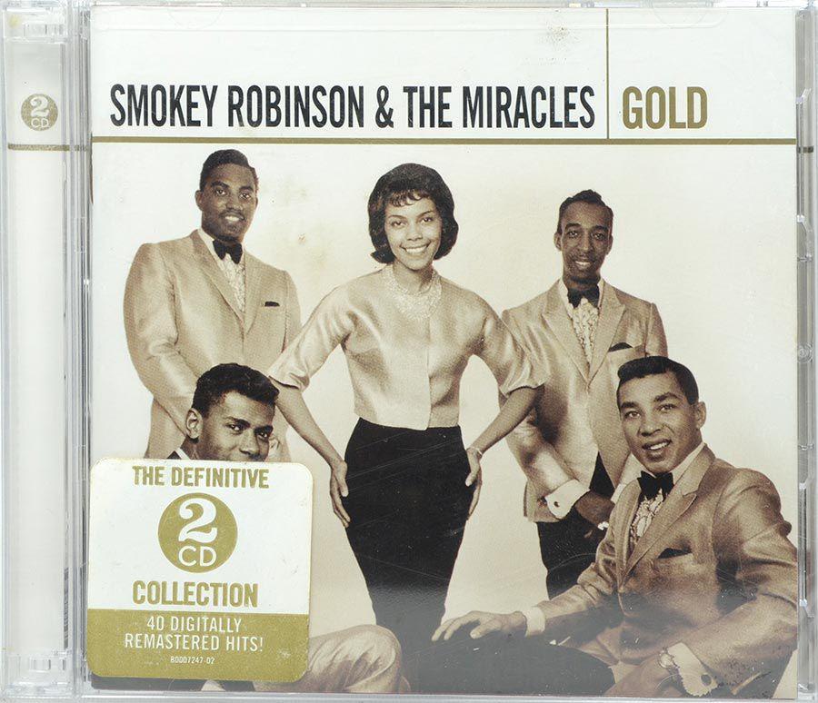 Cd Duplo Smokey Robinson & The Miracles - Gold - Lacrado - Importado