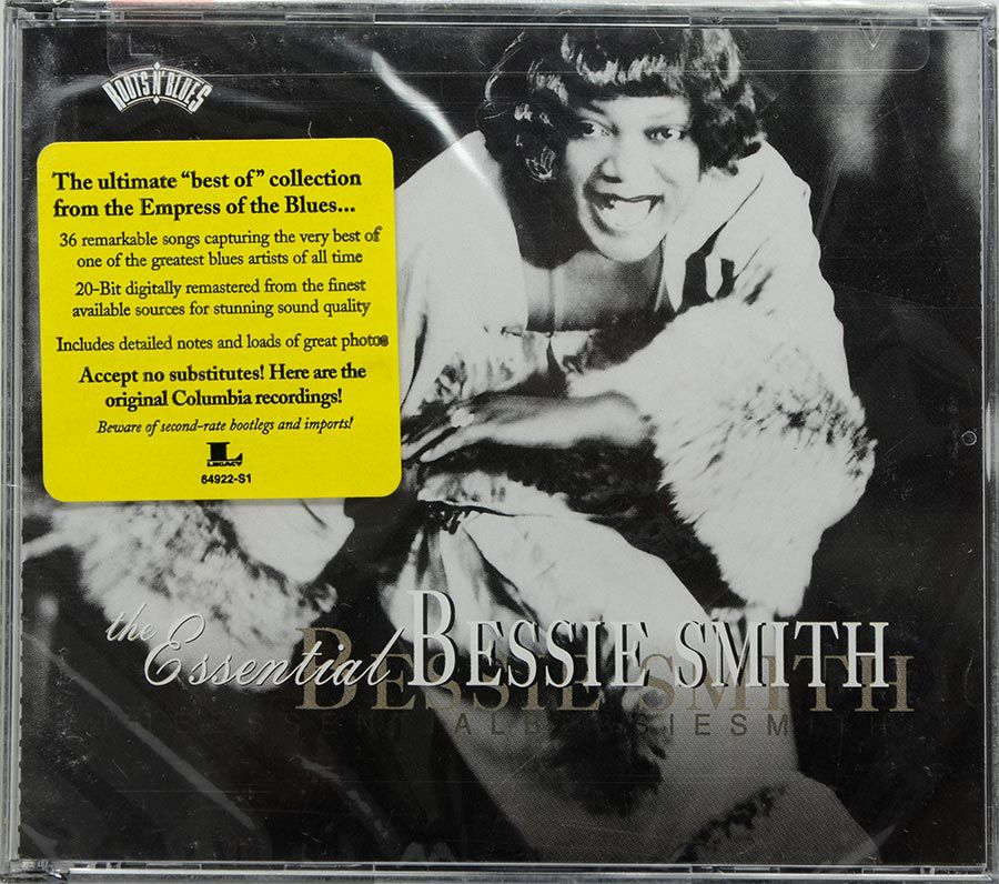 CD Duplo The Essential Bessie Smith - Lacrado - Importado