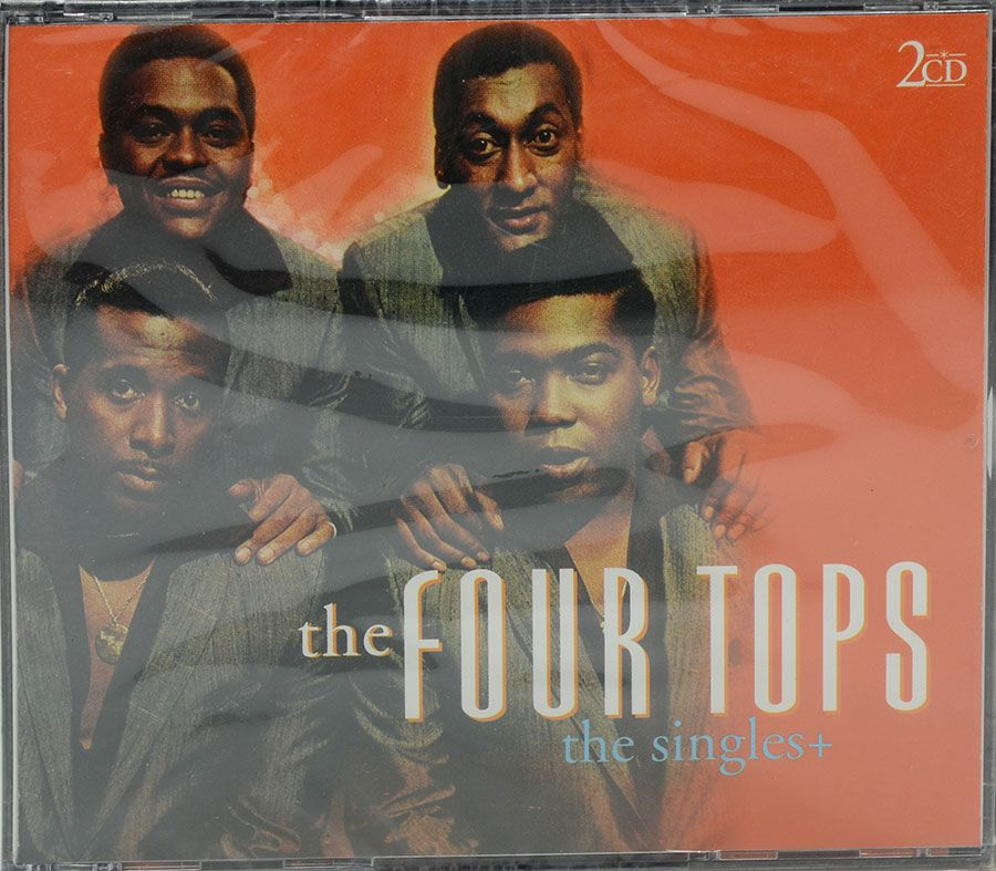 Cd Duplo The Four Tops - The Singles + - Lacrado - Importado