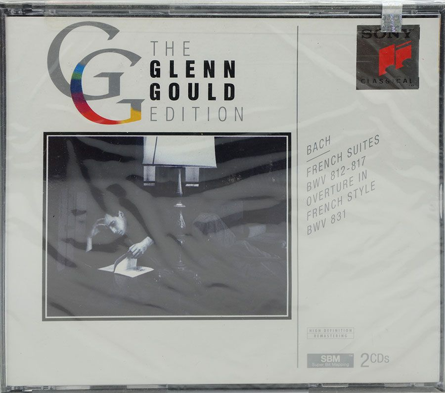 Cd Duplo The Glenn Gould Edition - Bach: French Suites Bwv 812-817 - Lacrado - Importado