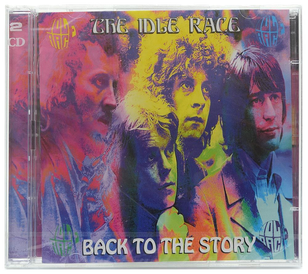 CD Duplo The Idle Race - Back To The Story - Importado - Lacrado