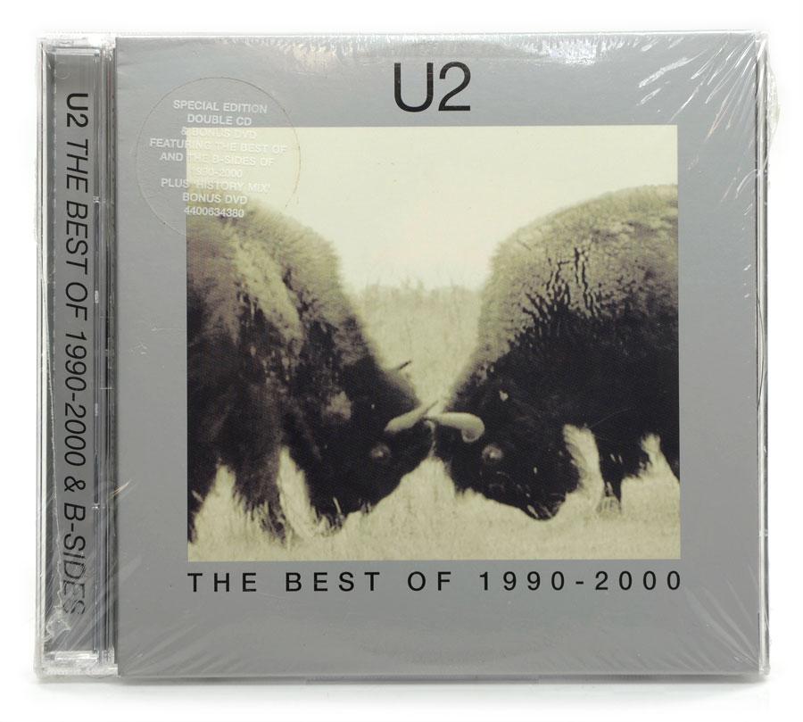 CD Duplo - U2 - The Best of 1990-2000 & B-Sides - Importado - Lacrado