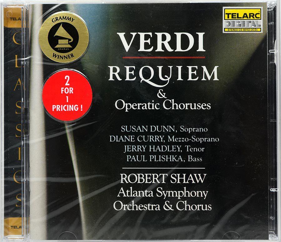 CD Duplo Verdi Requiem & Operatic Choruses - Lacrado - Importado